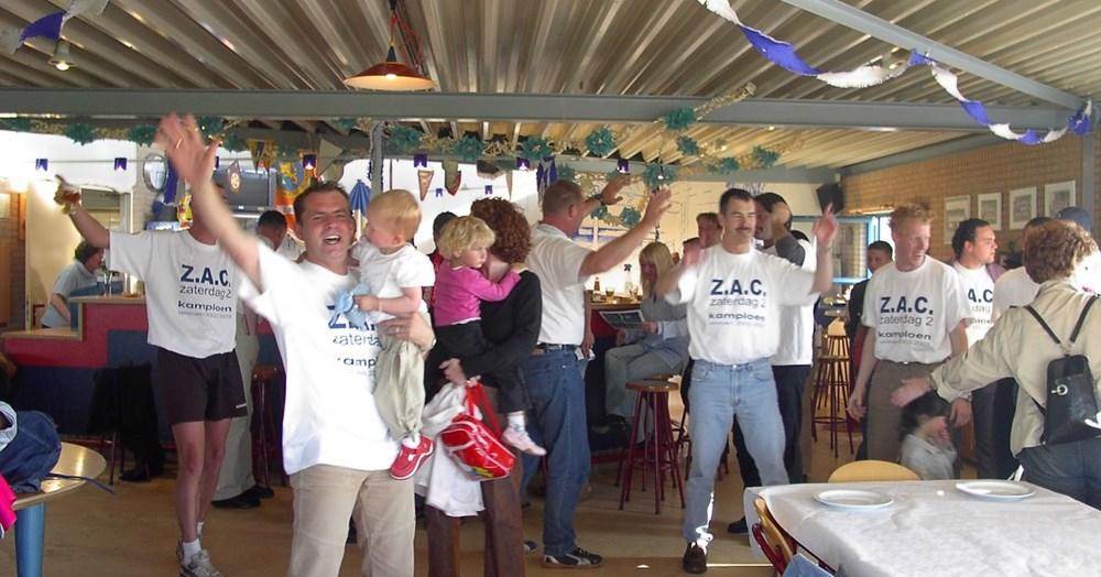 2003 Verenigingsleven Kampioensfeest Z.A.C. 2 - zaterdag