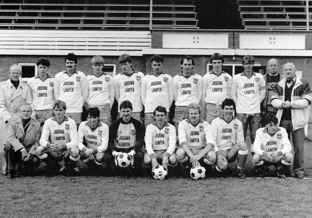 1984 Voetbal ZAC 1 - zaterdag