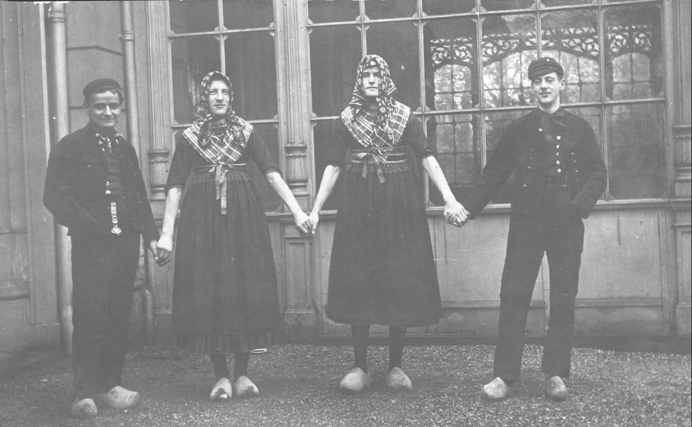1914 Verenigingsleven De revue 'Doorschuiven'