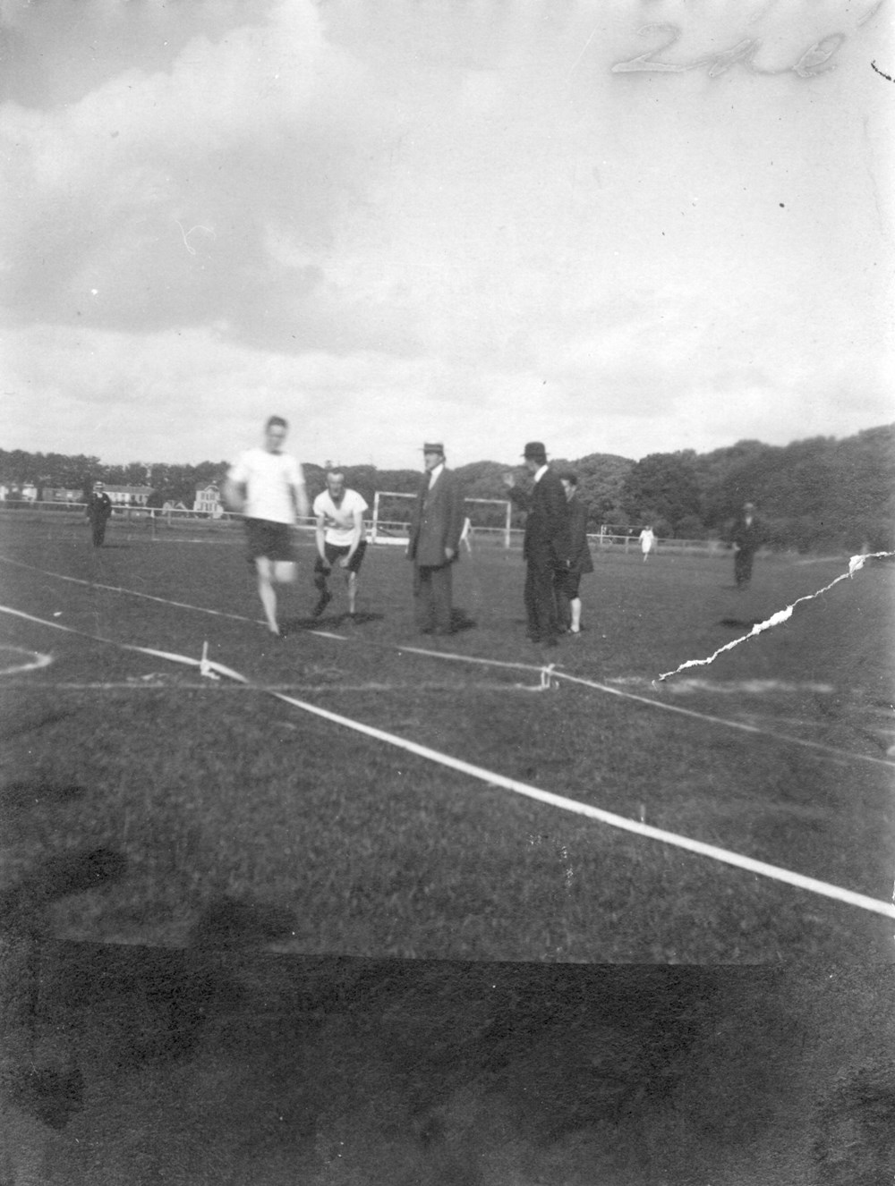 1917 Athletiek  100 meter