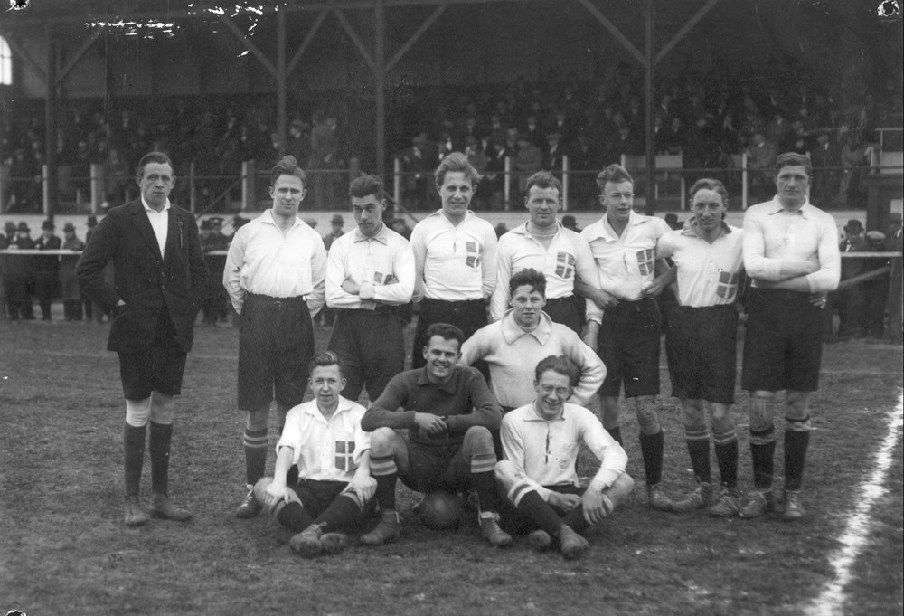 1922 Voetbal Z.A.C. 1