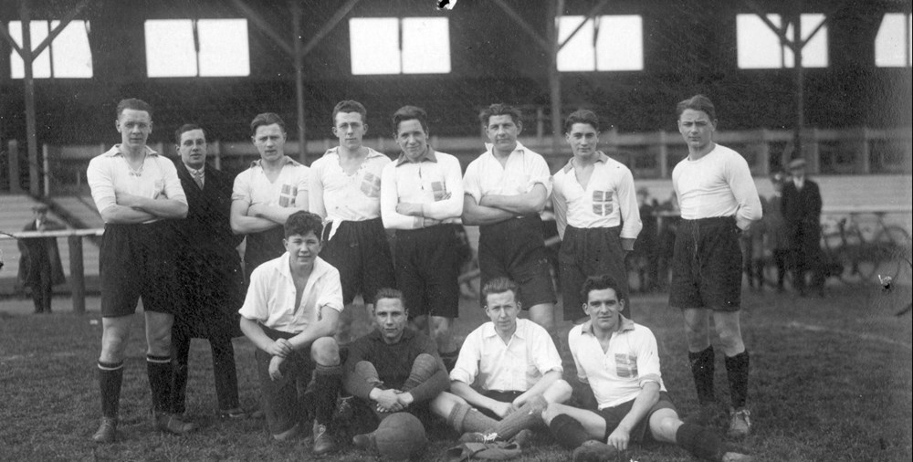 1925 Voetbal Z.A.C. 2