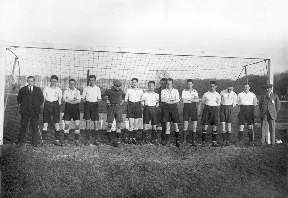1925 Voetbal  Z.A.C. 1