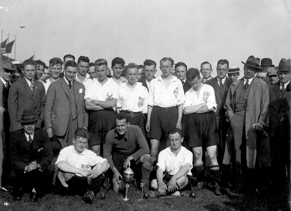1927 Voetbal Z.A.C. 1