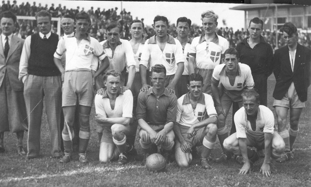 1936 Voetbal Z.A.C. 1