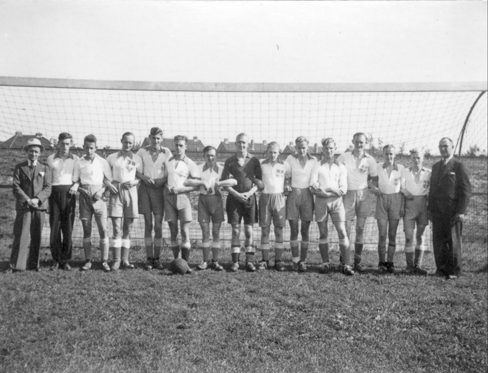 1941 Voetbal  Z.A.C. 2