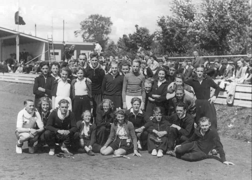 1941 Atletiek Wedstrijden in Deventer