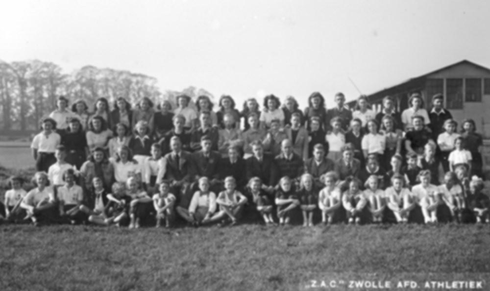 1942 Atletiek De Z.A.C. atleten