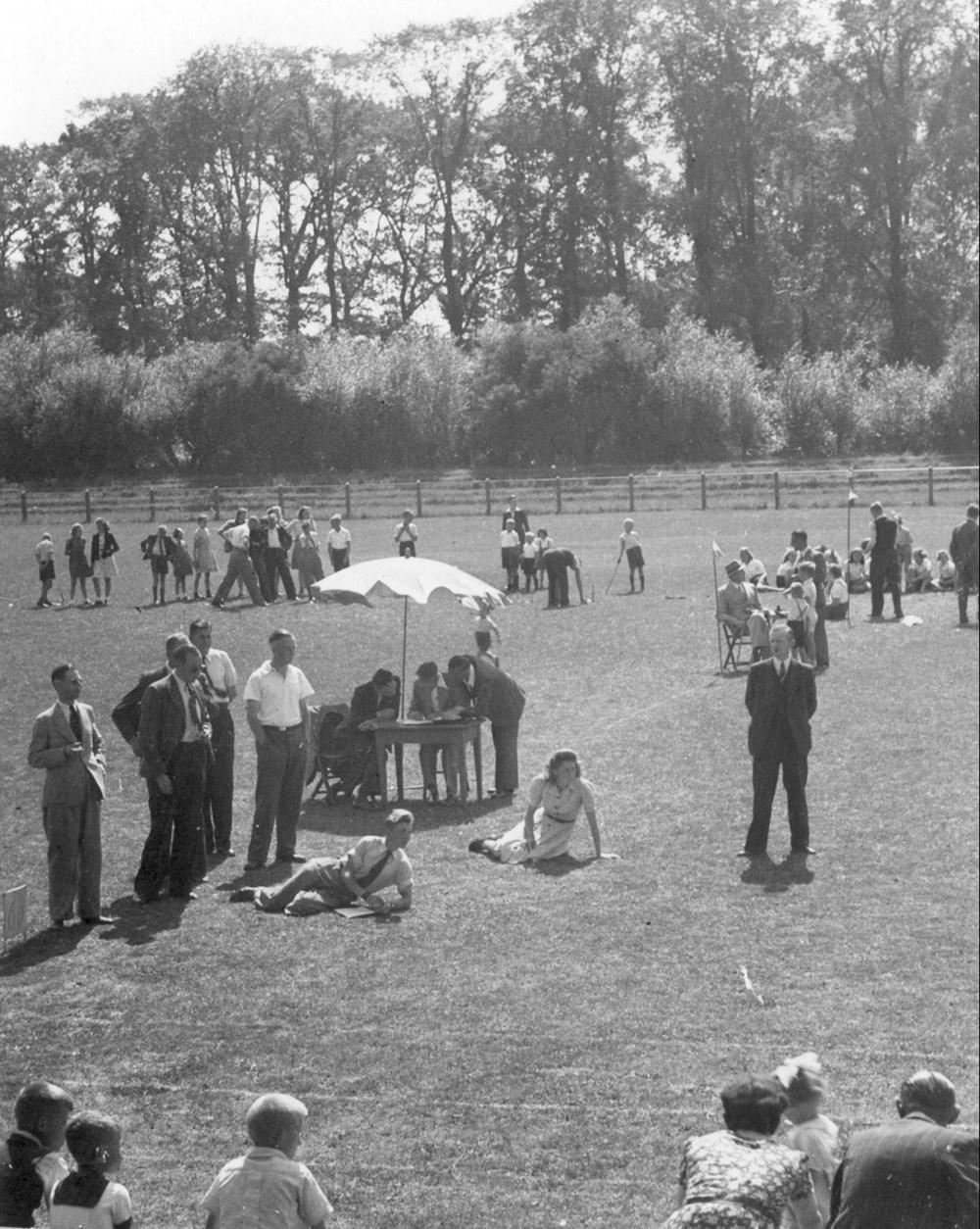 1943 Verenigingsleven Z.A.C.-sportdag