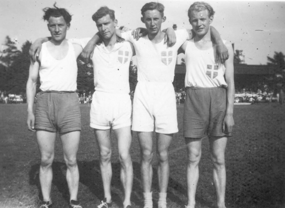 1947 Atletiek Wedstrijden in Enschede