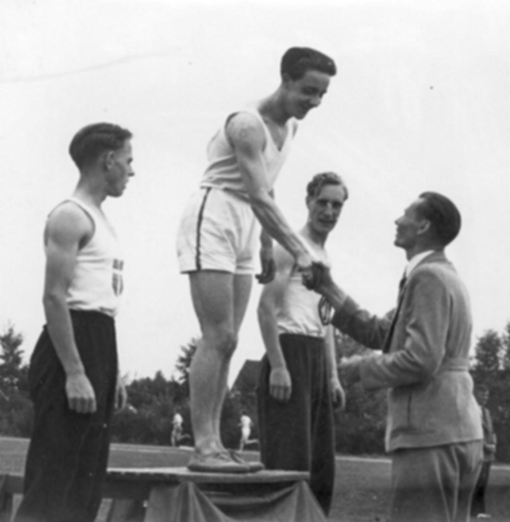 1948 Atletiek Nederlandse Jeugdkampioenschappen.
