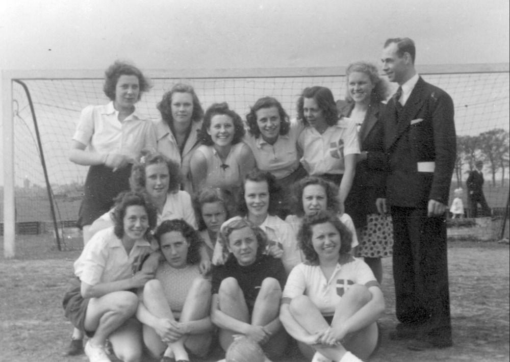 1947 Handbal Z.A.C. Dames 1