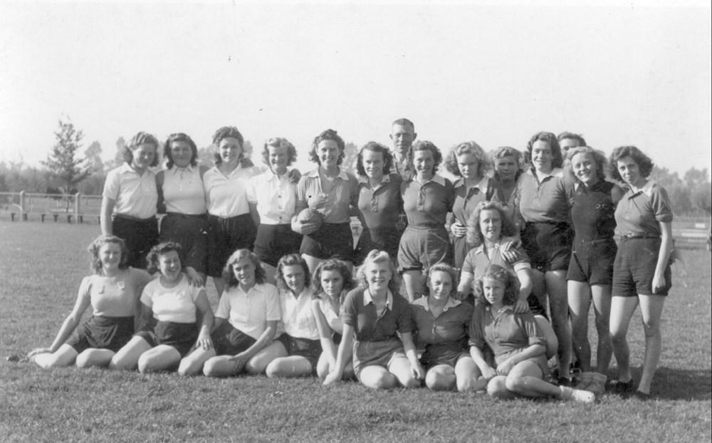 1948 Handbal Z.A.C. dames 1
