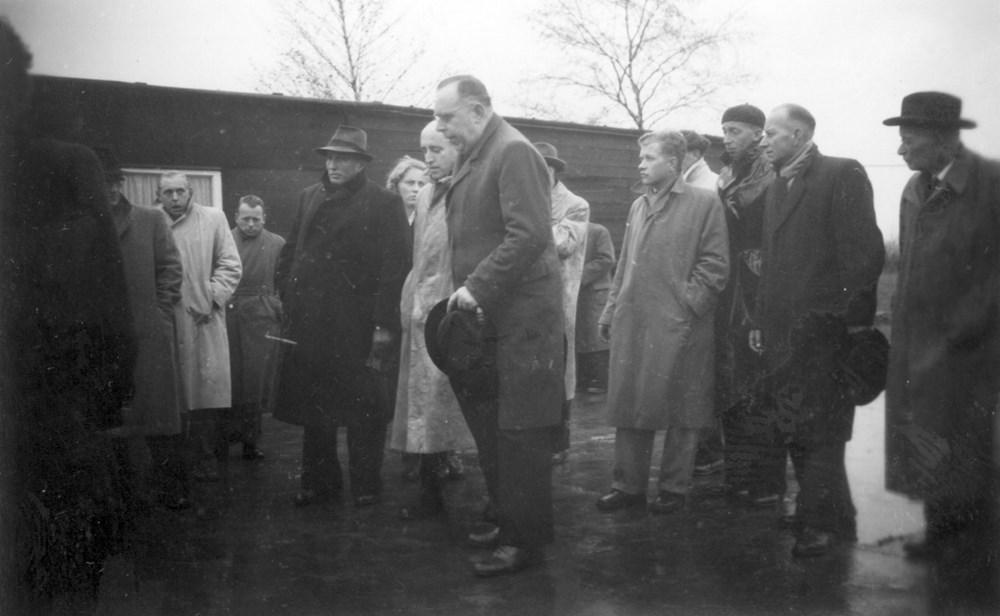1949 Verenigingsleven Opening houten kleedgebouw