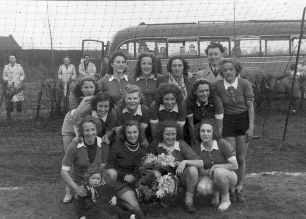 1949 Handbal Dames 1 kampioen