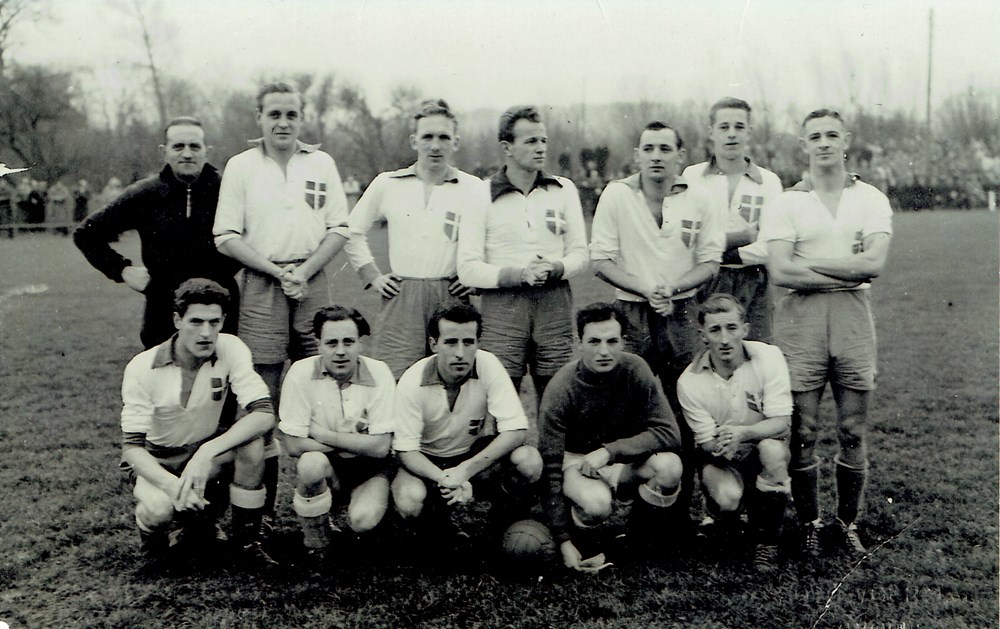1952 Voetbal Z.A.C. 1