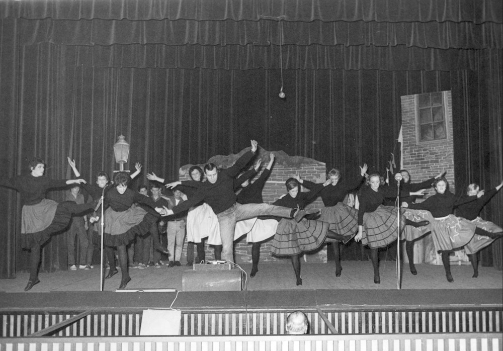 1963 Verenigingsleven Revue 'Het spookt bij de Z.A.C.'