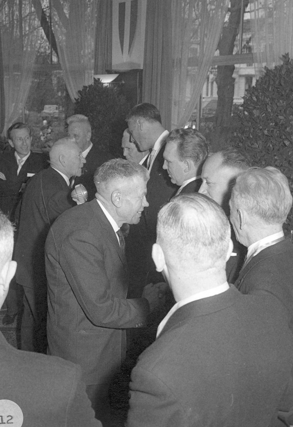 1963 Verenigingsleven receptie 70-jarig bestaan