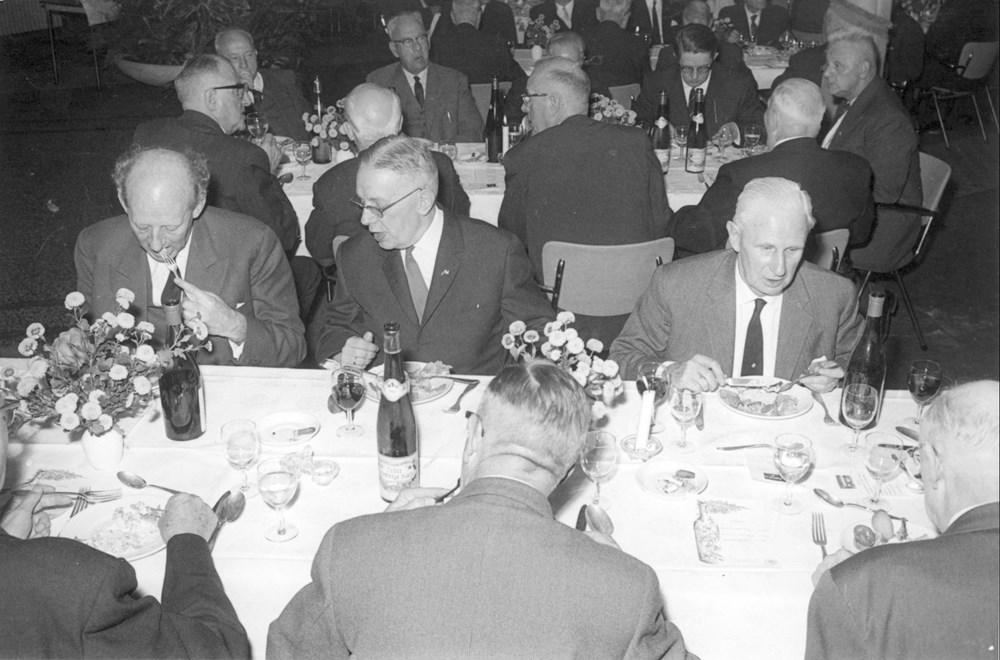 1963 Verenigingsleven Diner 70-jarig bestaan