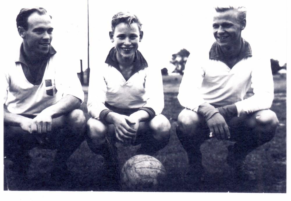 1964 Voetbal De gebroeders Kraijer