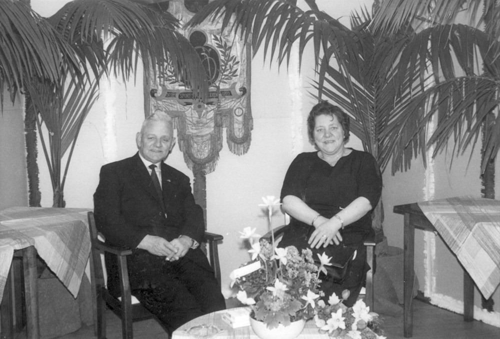 1965 Verenigingsleven Afscheid van Klaas Ester als bestuurslid