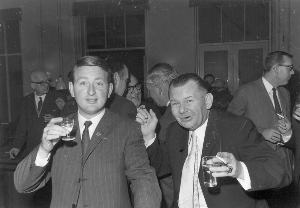 Thijs Richter (links) en Henny de Groot.