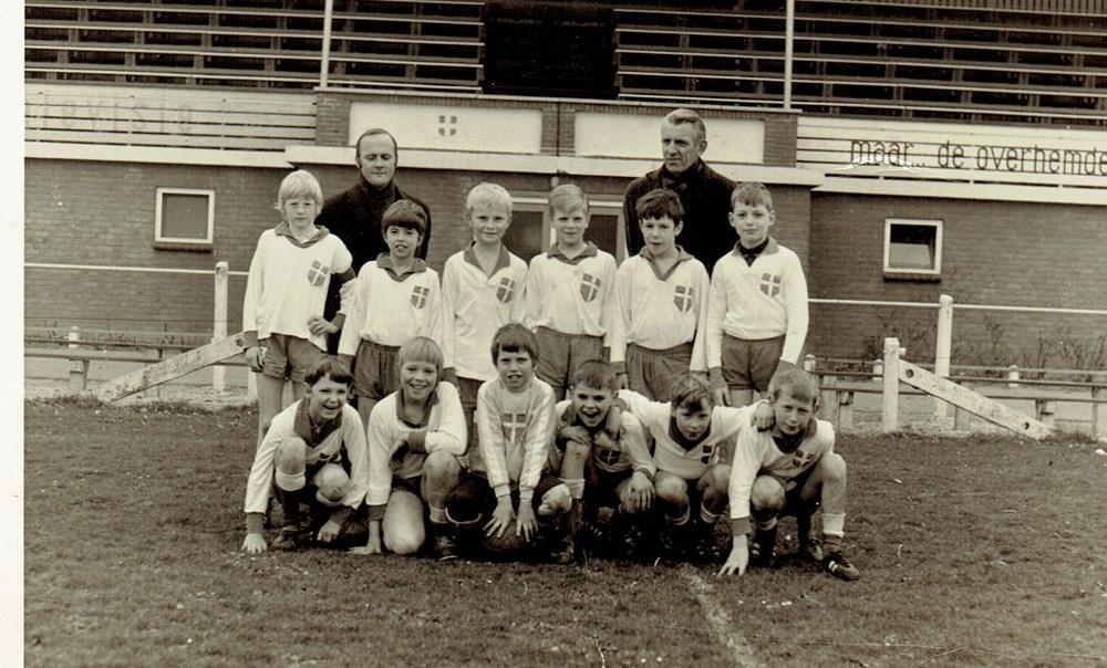 1970 Voetbal Pupillen