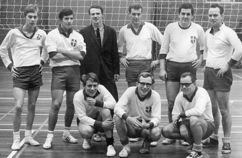 1970 Volleybal Z.A.C. heren 2