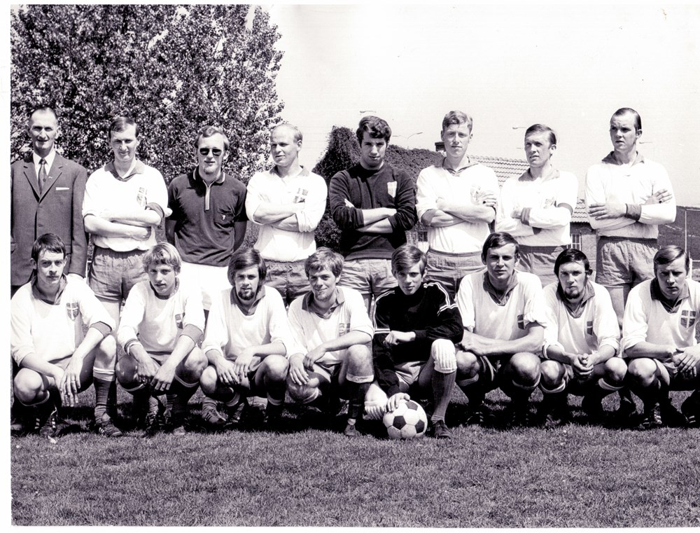 1970 Voetbal Z.A.C. 2 kampioen