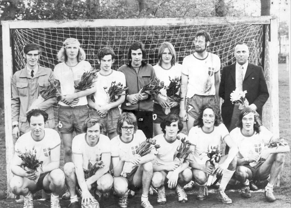1970 Voetbal Z.A.C. 1 zaterdagelftal