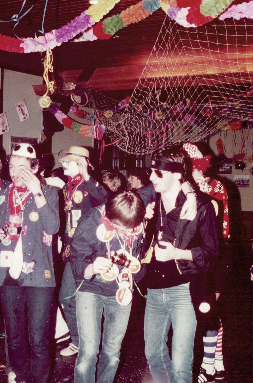 1981 Verenigingsleven Carnaval in de Z.A.C.-kantine
