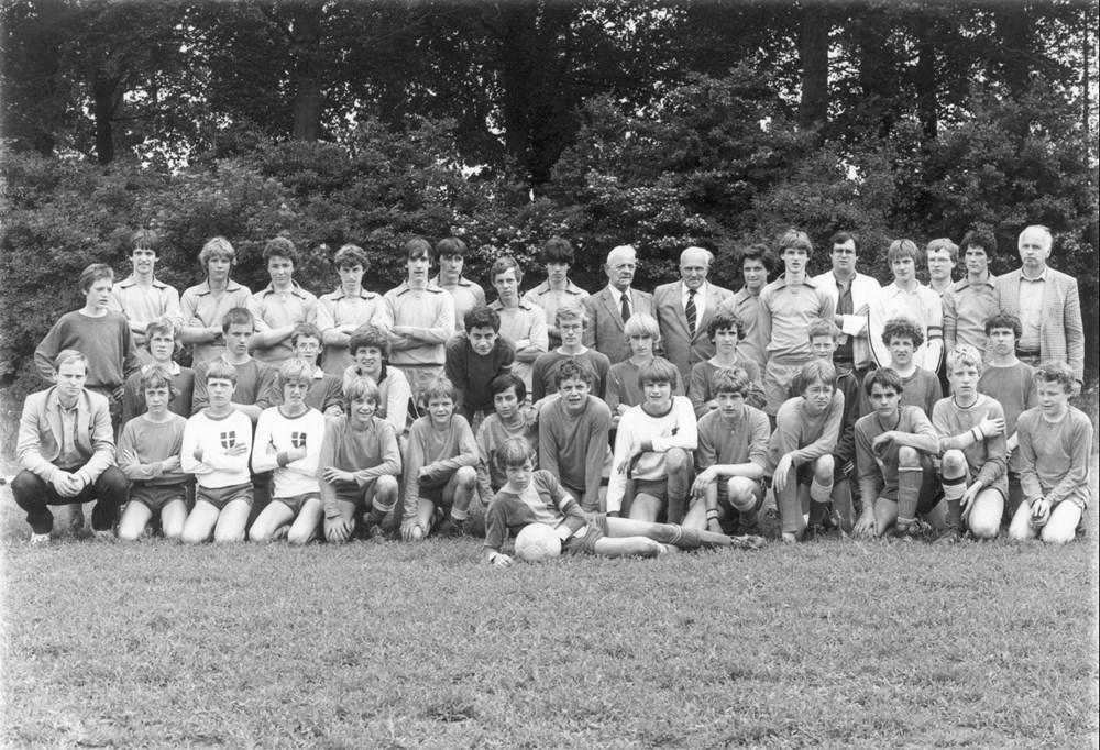 1981 Voetbal  A, B en C-tournooi