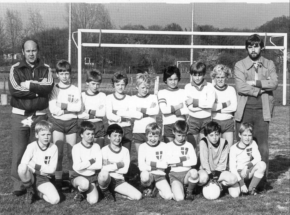 1981  Voetbal Z.A.C. E-pupillen