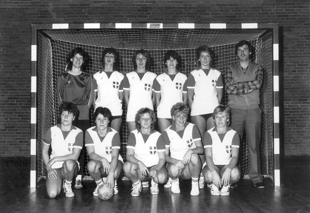 1983 Handbal Z.A.C. Dames 1 zaal