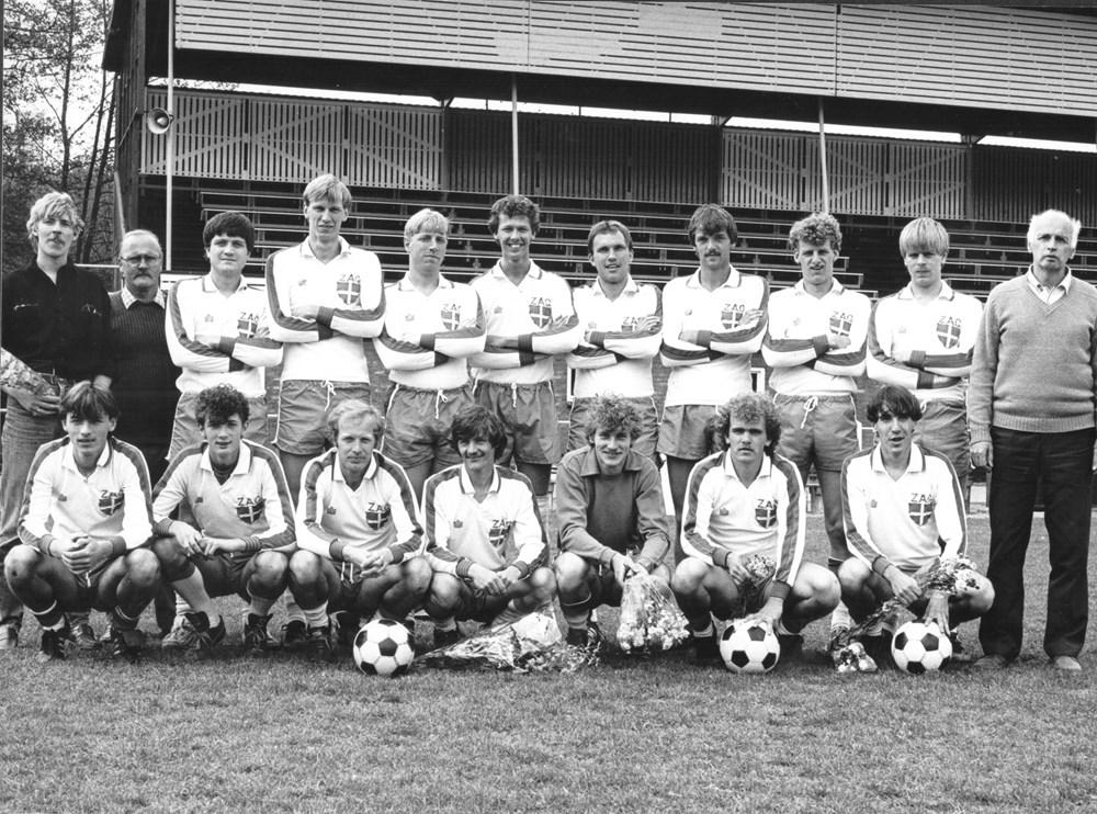 1983 Voetbal ZAC 3 kampioen