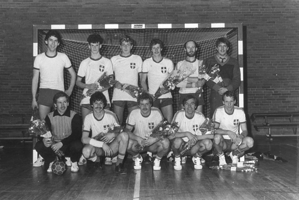 1983 Handbal Z.A.C. Heren 1 zaal