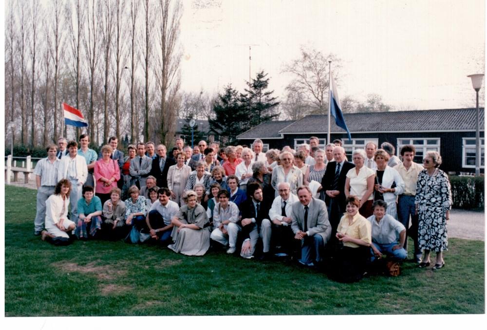 1987 Handbal Reünie ter gelegenheid van het 40 jarig bestaan van de ZAC-handbal