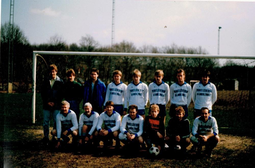 1988 Voetbal Z.A.C. 3 - zaterdag