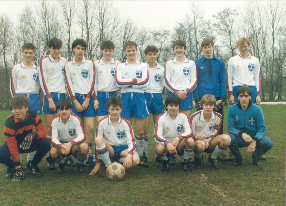 1983 Voetbal ZAC A1