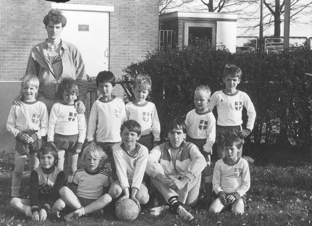 1983 Voetbal F-pupillen