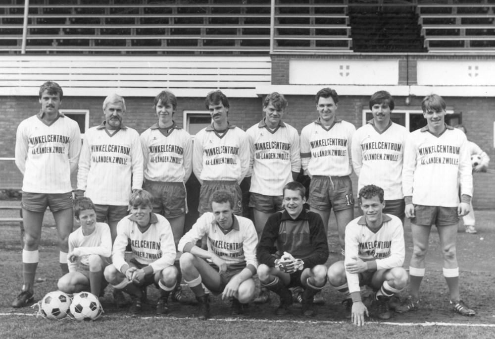 1984 Voetbal Z.A.C. 2 - zaterdag