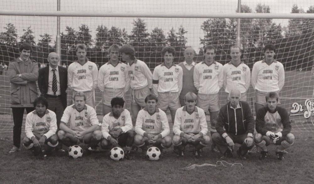 1986 Voetbal ZAC 1 Zaterdag