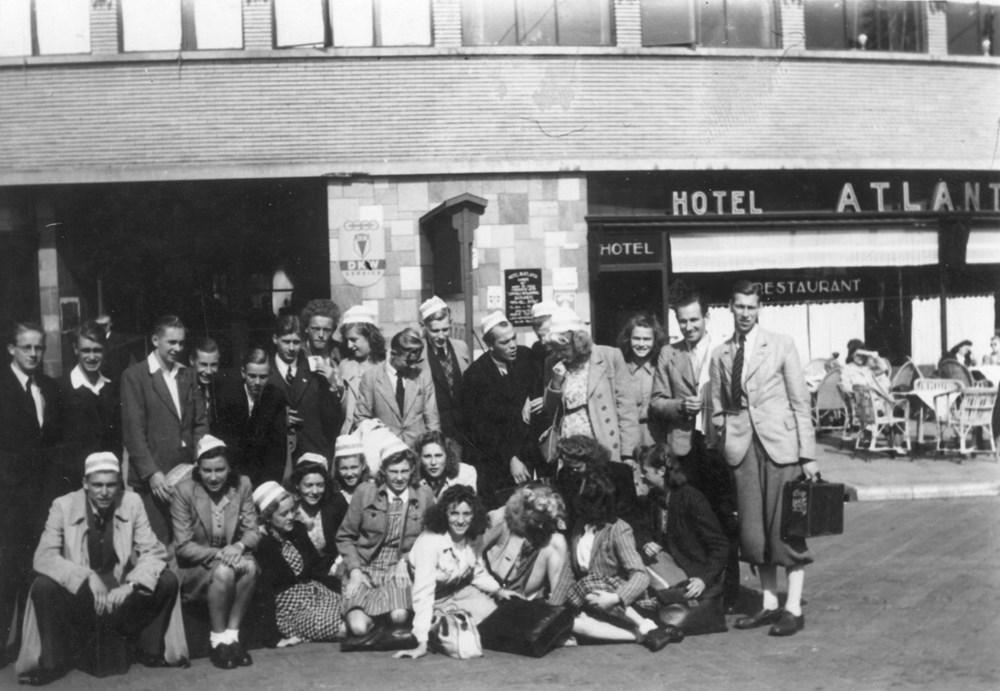 1943 Atletiek Wedstrijden in Apeldoorn