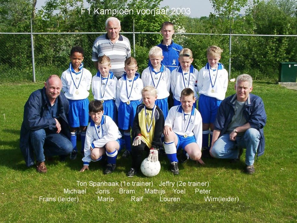 2003 Voetbal F1