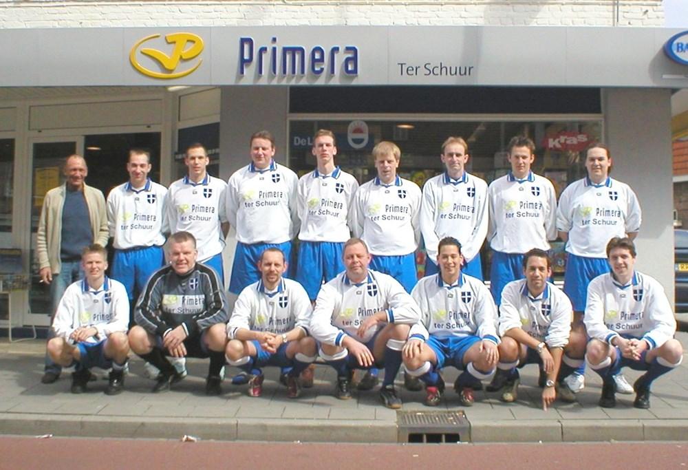 2004 Voetbal Z.A.C. 7 zaterdag